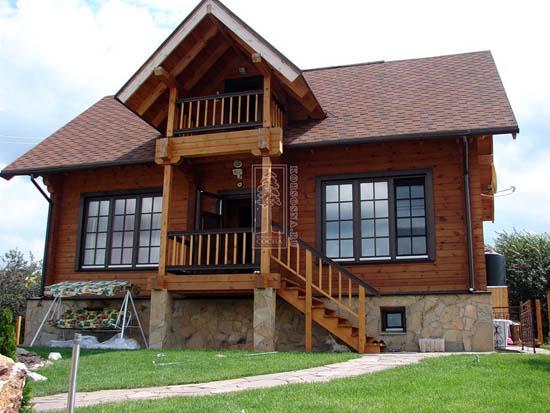 Casas prefabricadas madera casas tronco prefabricadas for Prefabricadas madera