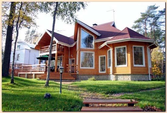 Construccion casas prefabricadas constructoras de casas - Casas de madera laminada ...