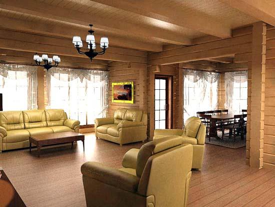 Construccion casas prefabricadas constructoras de casas prefabricadas empresas casas - Interior casas de madera ...
