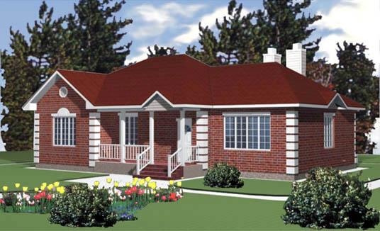 Modelos de casas americanas de una planta imagui - Fotos casas prefabricadas ...