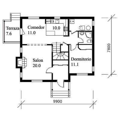 Cix885yfin planos de casas de madera - Casas de madera planos ...