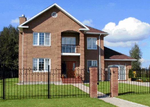 Casa de madera chalet unifamiliar casas prefabricadas for Modelos de casas procrear clasica