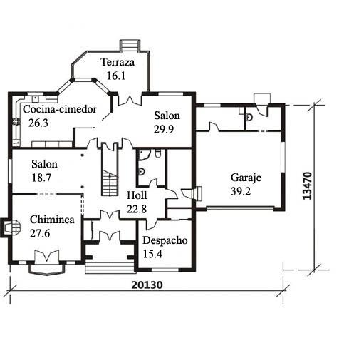 Fachadas de casas y planos de casas - Planos de casas americanas ...