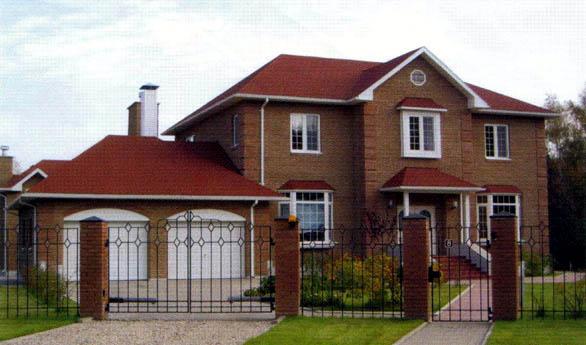 Casa de madera chalet unifamiliar casas prefabricadas - Modelos de chalet ...