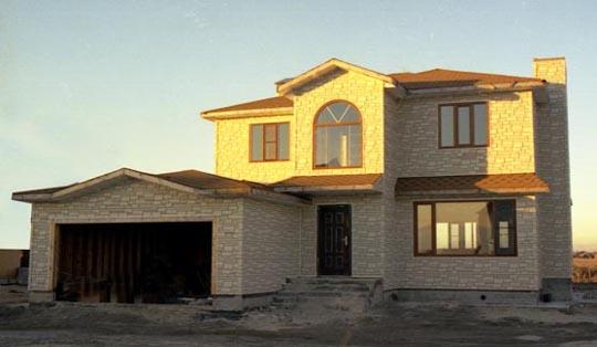 Casa de madera chalet unifamiliar casas prefabricadas modelo de casa 15 - Casas de piedra prefabricadas ...