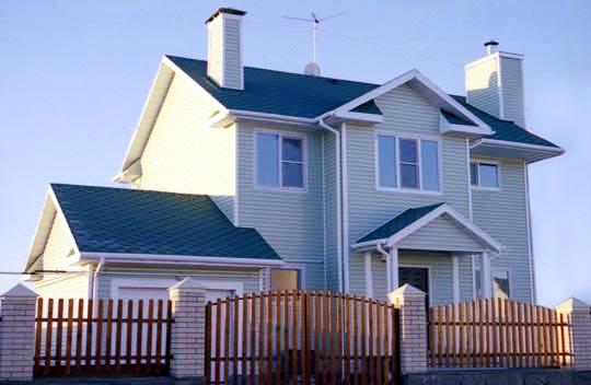 Casa de madera chalet unifamiliar casas prefabricadas - Montaje de casas de madera ...