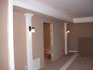 Interiores de casas americanas casas de madera casas for Casas pintadas interior